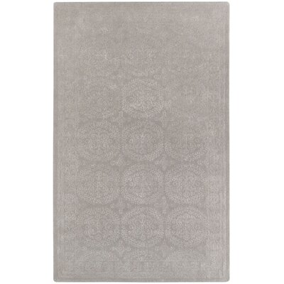 Interlace Light Beige Area Rug Rug Size: Rectangle 7 x 9