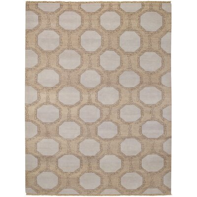 Penny Tan Trellis Area Rug Rug Size: Rectangle 4 x 6