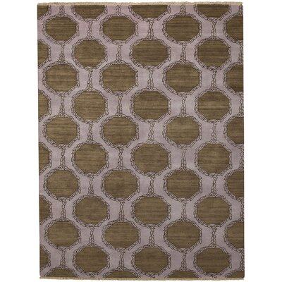 Penny Tawny Trellis Brown/Purple Area Rug Rug Size: 4 x 6