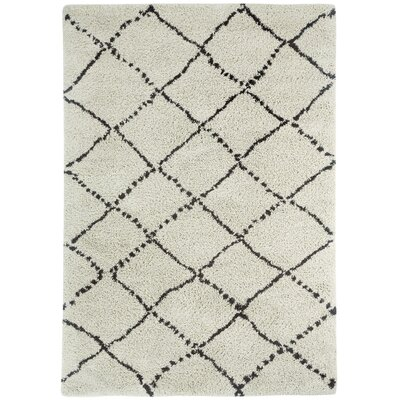 Woodward Trellis Rhinestone Area Rug Rug Size: Rectangle 53 x 76