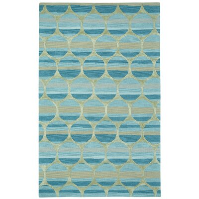 Bucine Blue Trellis Area Rug Rug Size: Rectangle 5 x 8