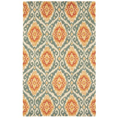 Malaysion Terra Cotta Area Rug Rug Size: 5 x 8