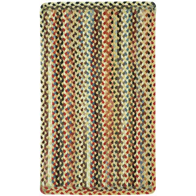 St. Johnsbury Wheat Variegated Area Rug Rug Size: 23 x 4