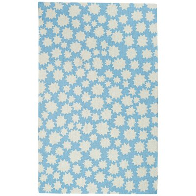Ezequiel Blue Area Rug Rug Size: Rectangle 2 x 3