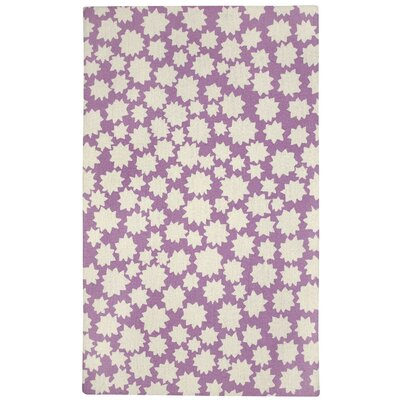 Ezequiel Purple Area Rug Rug Size: Rectangle 36 x 56