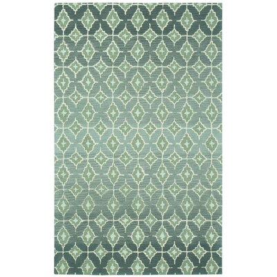 Rossio Grey Trellis Area Rug Rug Size: Rectangle 7 x 9