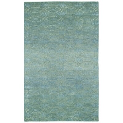 Gave Grey Azure Trellis Area Rug Rug Size: Rectangle 5 x 8
