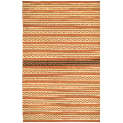 Barred Sunny Deep Grey Striped Area Rug Rug Size: 5 x 8