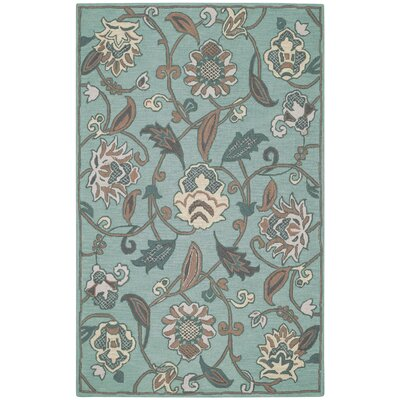 Pagoda Spring Green Area Rug Rug Size: Rectangle 8 x 11