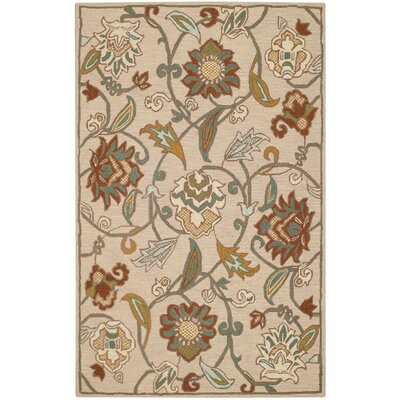 Pagoda Light Tan Area Rug Rug Size: 5 x 8