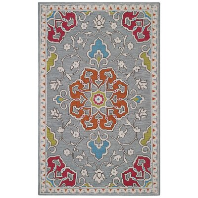 Burgos Ash Area Rug Rug Size: Rectangle 8 x 11
