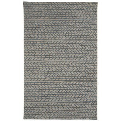 Pillar Hand-Tufted Granite/Smoke Area Rug Rug Size: 3 x 5