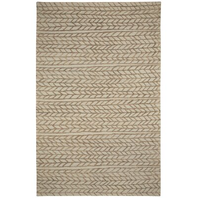 Spear Beige Chestnut Area Rug Rug Size: 8 x 10