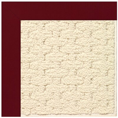 Zoe Wine Indoor/Outdoor Area Rug Rug Size: Square 10'