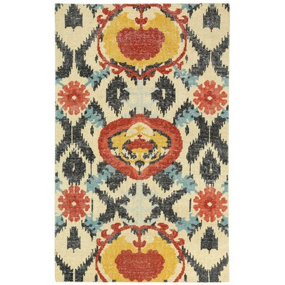 Oak Hand Knotted Area Rug Rug Size: 8 x 10
