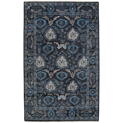 Sullivan Street Hand Knotted Blue Area Rug Rug Size: 56 x 86