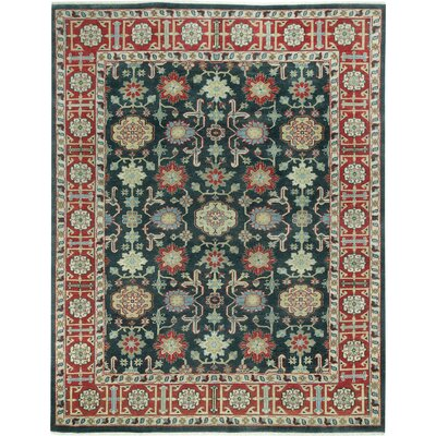 Biltmore Heritage Keshan Hand Knotted Area Rug Rug Size: 36 x 56