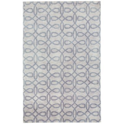 Cococozy Symphonic Hand Knotted Ash Area Rug Rug Size: 8 x 11