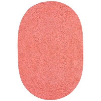 Custom Classics Braided Bubblegum Area Rug Rug Size: Runner 2' x 8'