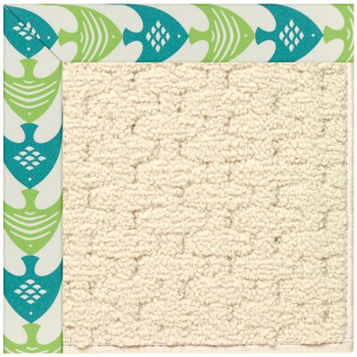 Zoe Off White Indoor/Outdoor Area Rug Rug Size: Rectangle 2 x 3