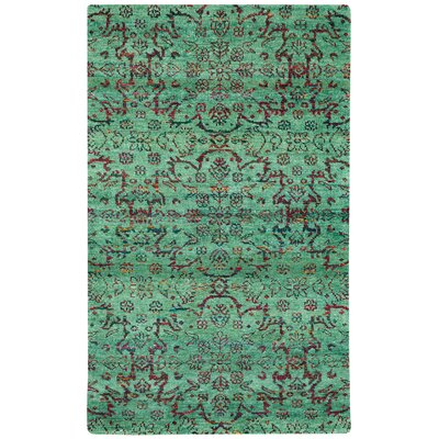 Round About High Wire Hand Knotted Area Rug Rug Size: 5 x 8