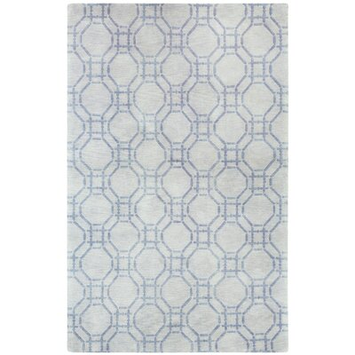 Cococozy Hoop Hand Knotted Area Rug Rug Size: 5 x 8