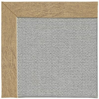 Inspirit Machine Tufted Beige/Gray Area Rug Rug Size: Square 6