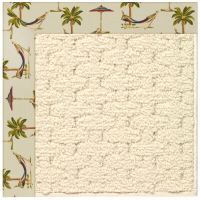 Zoe Beige Indoor/Outdoor Area Rug Rug Size: Rectangle 9 x 12