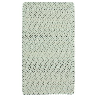 Vivid Cross Sewn Braided Eggshell Area Rug Rug Size: Rectangle 92 x 132