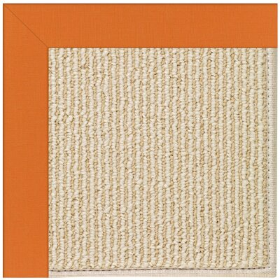 Zoe Machine Tufted Clementine Indoor/Outdoor Area Rug Rug Size: Square 8'