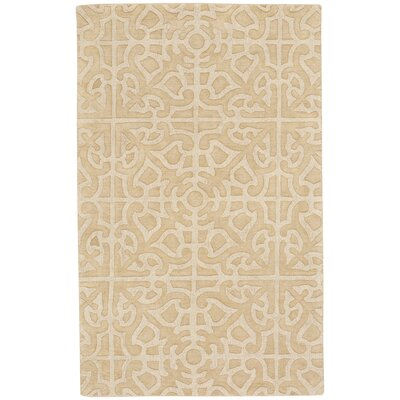 Williamsburg Ribbon Hand Tufted Taupe Area Rug Rug Size: 8 x 10