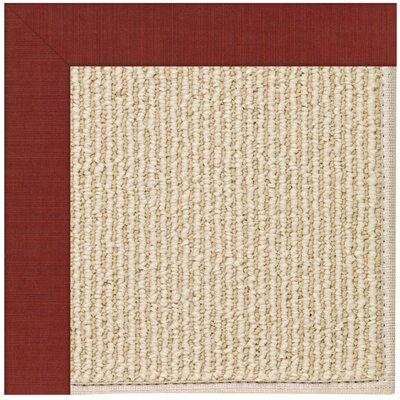 Zoe Machine Tufted Henna Indoor/Outdoor Area Rug