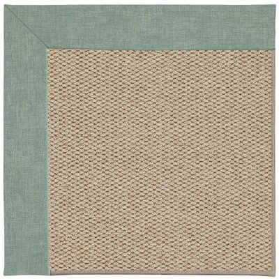 Inspirit Champagne Machine Tufted Reef/Beige Area Rug Rug Size: Square 10