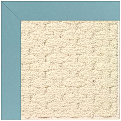 Zoe Off White Indoor/Outdoor Area Rug Rug Size: Square 4'