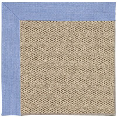 Inspirit Champagne Machine Tufted Spa/Beige Area Rug Rug Size: Square 6
