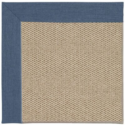 Inspirit Champagne Machine Tufted Caribbean/Brown Area Rug Rug Size: Square 6