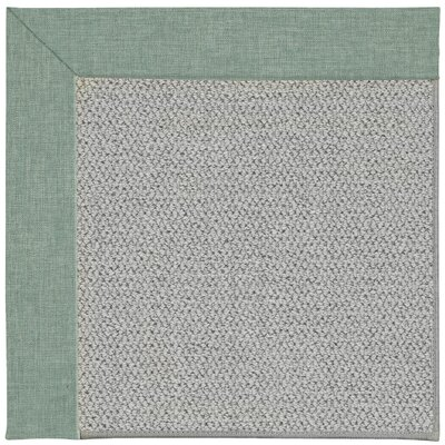 Inspirit Machine Tufted Reef/Gray Area Rug Rug Size: Square 4