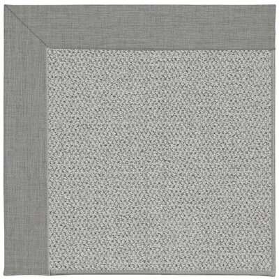 Inspirit Machine Tufted Steel/Gray Area Rug Rug Size: Square 6