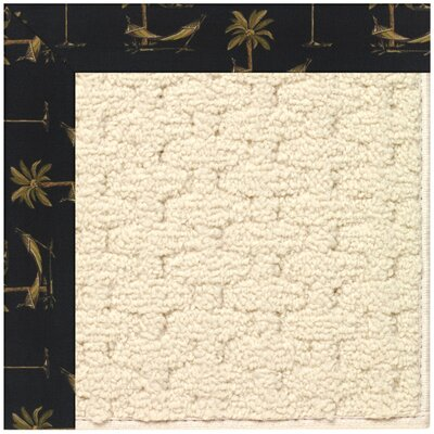 Zoe Off White Indoor/Outdoor Area Rug Rug Size: Rectangle 3 x 5