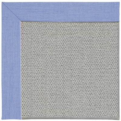 Inspirit Silver Machine Tufted Spa/Gray Area Rug Rug Size: Square 4