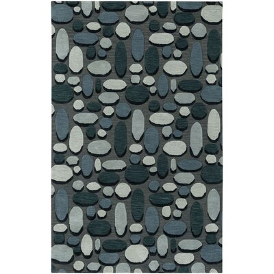 Evening Shade Hand Tufted Charcoal Area Rug Rug Size: 9 x 12