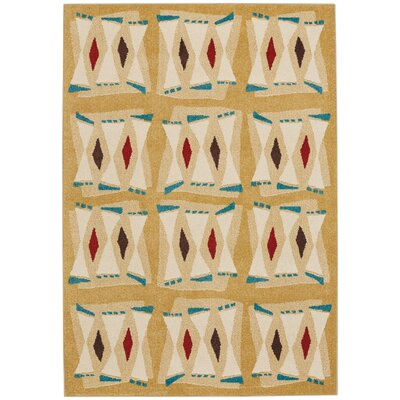 Greenwich Machine Woven Beach Indoor/Outdoor Area Rug Rug Size: 52 x 76
