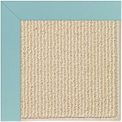 Zoe Machine Tufted Seafaring Blue/Brown Indoor/Outdoor Area Rug Rug Size: Square 8