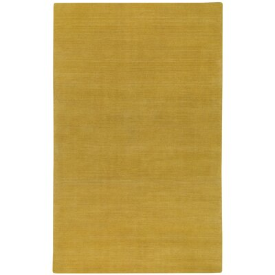 Shelbourne 2.0 Hand Tufted Amber Area Rug Rug Size: 36 x 56