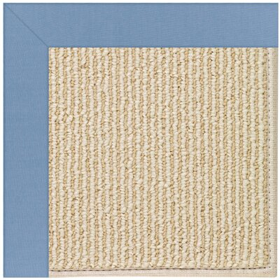 Zoe Machine Tufted Blue/Beige Indoor/Outdoor Area Rug Rug Size: Square 8