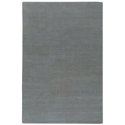 Shelbourne 2.0 Hand Tufted Blue/Ash Area Rug Rug Size: 36 x 56