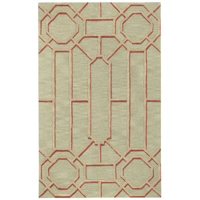 Williamsburg Ironworks Hand Tufted 700 Sand Area Rug Rug Size: 9 x 12