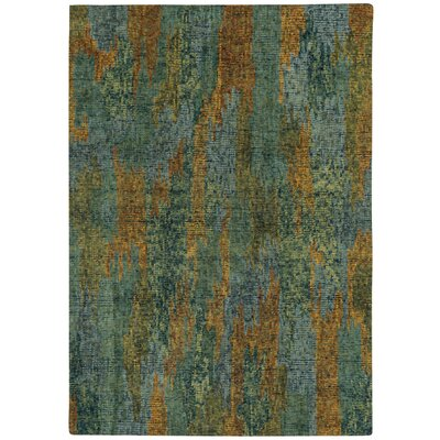 Water Carrier Hand Tufted Area Rug Rug Size: 7 x 9