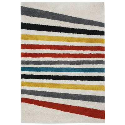 Glendale Machine Woven Area Rug Rug Size: 53 x 76