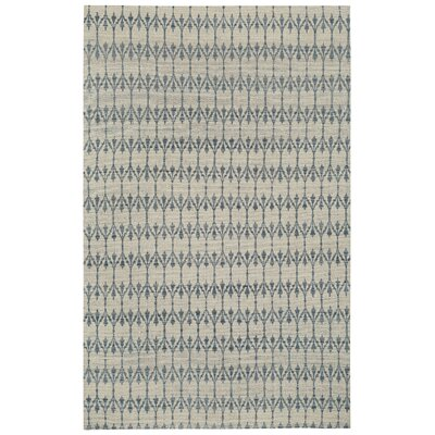Walnut Creek Flat Woven Iceberg Area Rug Rug Size: 5 x 8